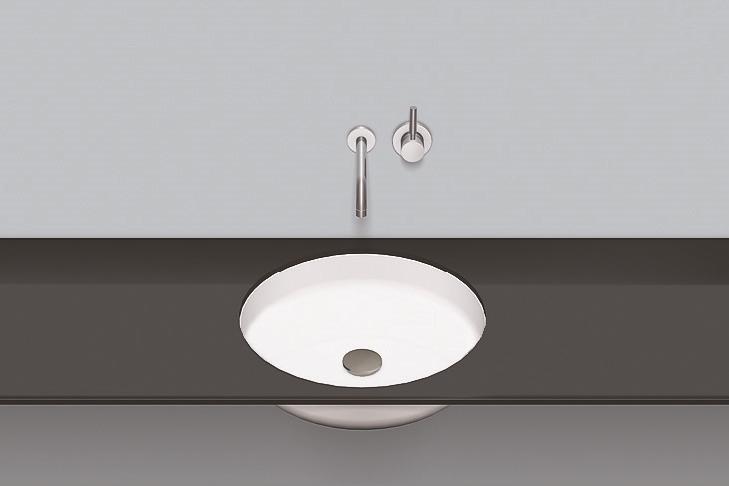 Vasca Da Bagno Sottopiano : Lavabo sottopiano ub so bianco antibatterica
